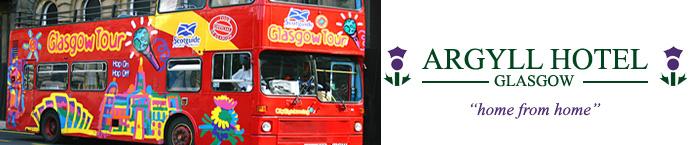 banner city tour bus