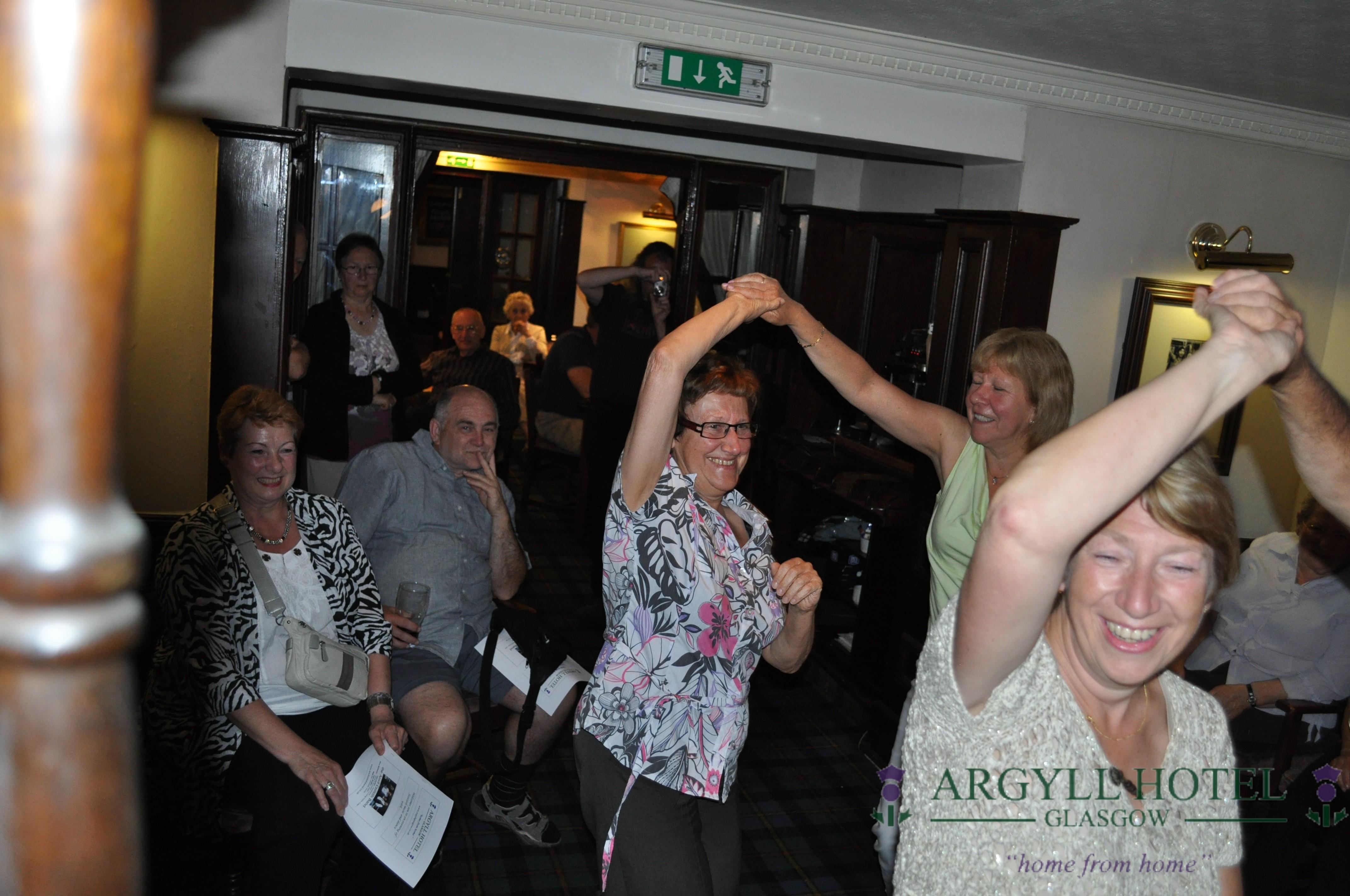 Argyll Hotel Ceilidh Dancing