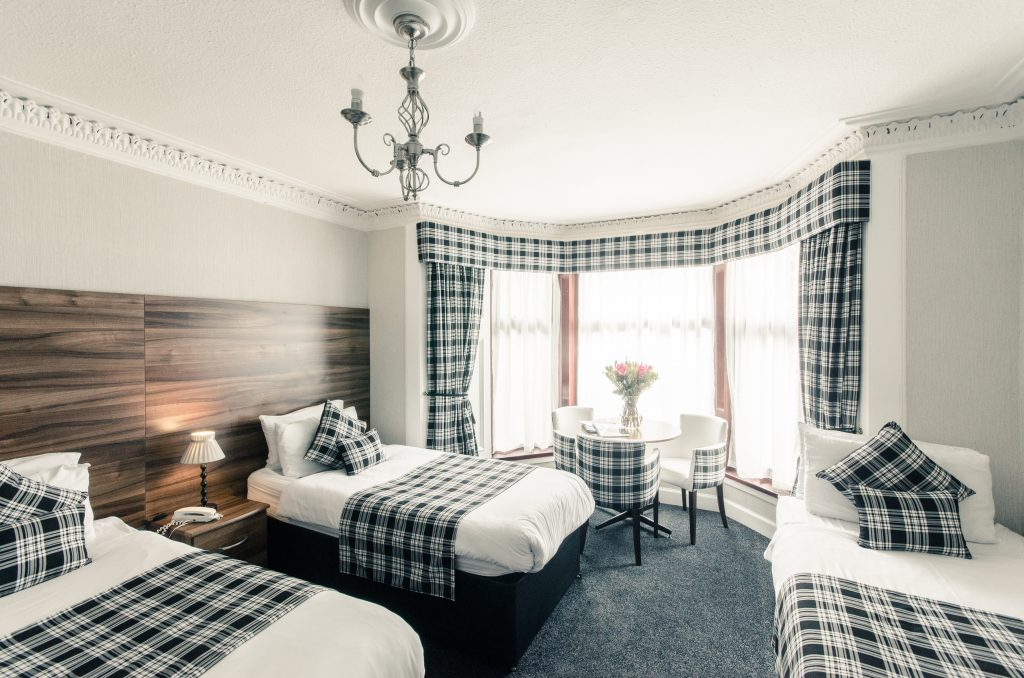 Triple Bed Room Argyll Guesthouse Glasgow
