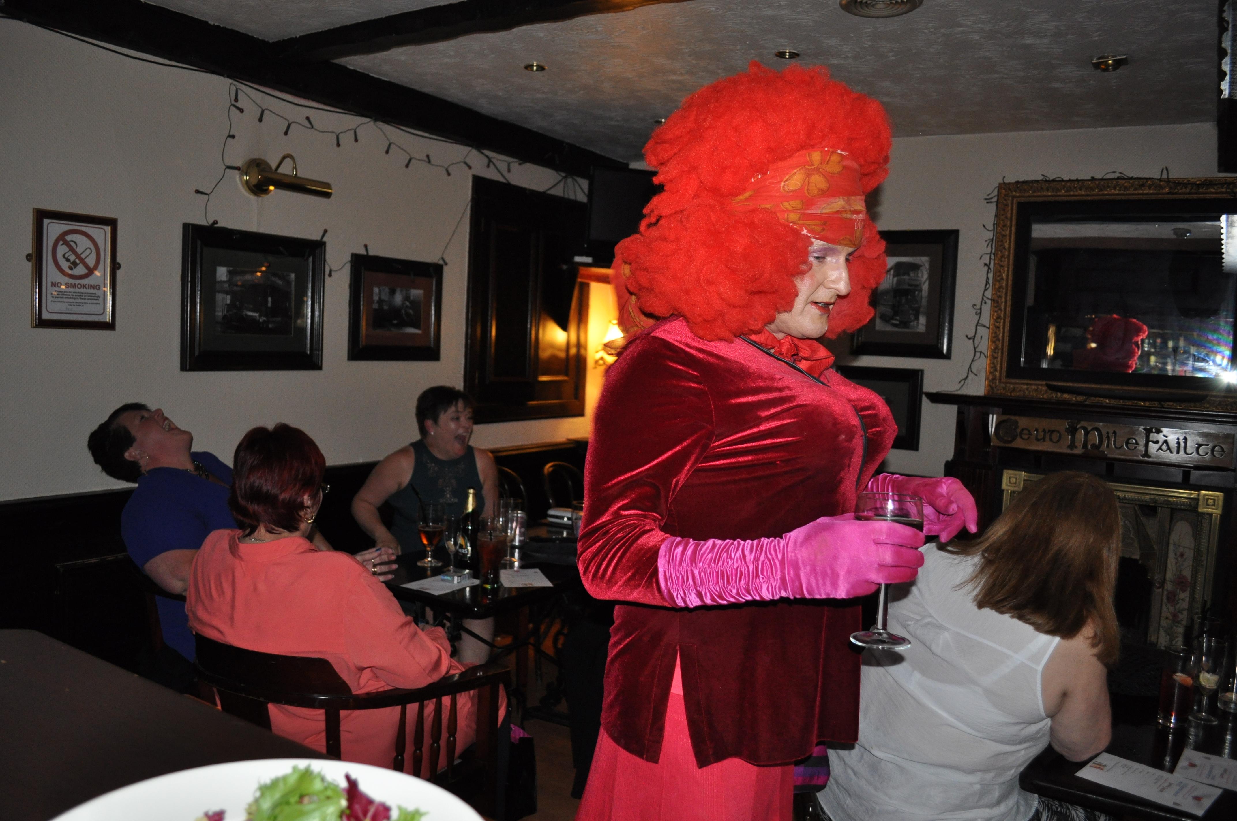Dress up murder mystery - Argyll Glasgow
