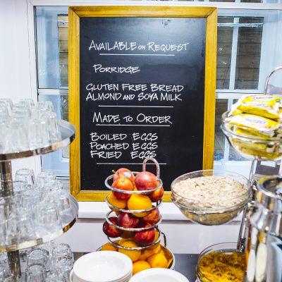 Argyll Hotel Breakfast